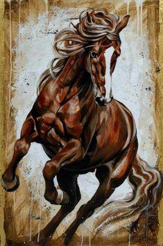 Los caballos son increíbles criaturas.