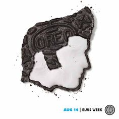Make way for the King — of snack time. http://oreo.ly/DailyTwist #dailytwist #elvisweek