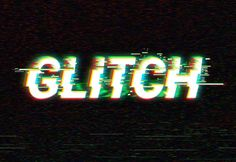 Digital Glitch Text Effect Freebies Free Graphic Design PSD Resource Template Text Effect Typography