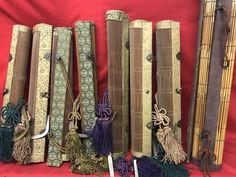 Catawiki, pagina di aste on line  Antica cortina in bambù 7 pezzi   2 moderni - Giappone - Metà XIX secolo e metá XX secolo