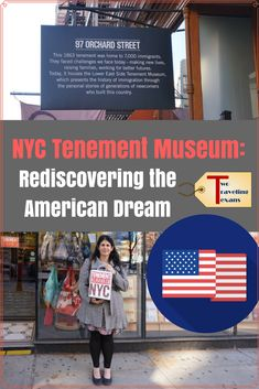 Visit the Tenement Museum in NYC to learn about the history of immigrants and their contributions to America. via @2travelingtxns #nyc #newyorkcity #nycmuseums #tenementmuseum #lowereastside #les #museumsinnyc