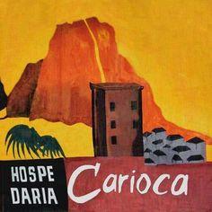 Hospedaria Carioca - primeira logo