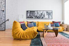 canapé togo, petit salon composable