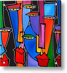 Alter Egos Acrylic Print by Tom Fedro - Fidostudio
