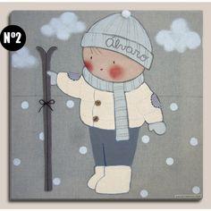 cuadros-infantiles-esqui_1.jpg (1000×1000)