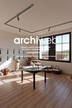 archiweb.cz - Centrum bylinkářství / ZÁNKA Dining Bench, Windows, Building, Furniture, Home Decor, Decoration Home, Table Bench, Room Decor, Buildings