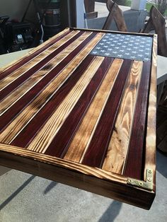 Your place to buy and sell all things handmade LARGE Rustic Flag Wood American Flag American Flag Pallet, American Flag Art, Woodworking Plans, Woodworking Projects, Woodworking Techniques, Wooden Flag, Into The Woods, Diy Holz, Diy Wood Projects