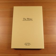 """Seven Seas """"WRITER"""" A5 Journal - 2nd Edition - Nanami Paper and Supply"""