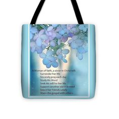 Faith Tote Bag featuring the photograph A Woman of faith... by Jo Wilmer