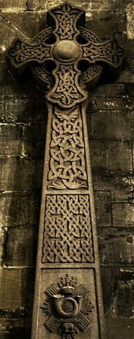 Celtic Cross   Glasgow Cathedral, Scotland