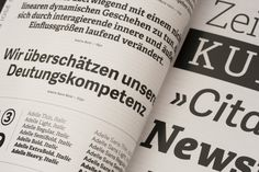 Neue Schriften. New Typefaces, presenting seventy different typefaces in more depth, including an interview with Gerard Unger, Veronika Burian and José Scaglione, and features TypeTogether's family Adelle and Capitolium News 2.