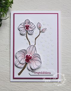 Stampin' Up! - Happy Stampin' - Janneke de Jong - Climbing Orchid