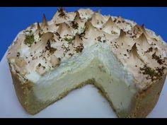 TORTA DE LIMÃO (RECEITA DE TORTA DE LIMÃO – A MELHOR E MAIS SABOROSA) - YouTube Sweet Pie, Camembert Cheese, Dairy, Pudding, Desserts, Youtube, Cheesecakes, Pizza, Rice Recipes