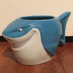 Disney Store Exclusive Pixar Finding Nemo Bruce Shark Ceramic Coffee Mug Cup | eBay