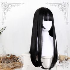 Short Hair Wigs, Curly Wigs, Long Curly Hair, Curly Hair Styles, Kawaii Hairstyles, Pretty Hairstyles, Wig Hairstyles, Short Hairstyle, Kawaii Wigs