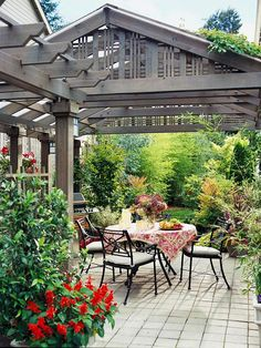This would work.  Grey wash my back porch ceiling....look natural and old.  Images of :: Outdoor Rooms - Fieldstone Hill Design