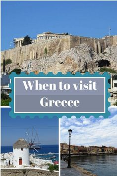 Are you planning a trip to Greece and you want to know when is the best time to come? Read this post to help you decide when is the best time to visit. Click through to read now.