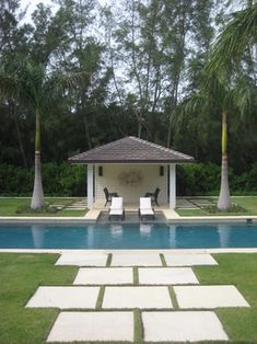 """Old Florida Refined"" by Bell-la - traditional - pool - miami - Bell Landscape Architecture Inc."
