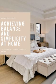 Home life doesn't have to be chaotic. Finding balance by creating systems that encourage simplicity in everyday tasks is key. Actionable tips are included here. If you are stresses and struggling, this post is for you. Declutter Your Home, Organizing Your Home, Organizing Ideas, Organization Hacks, Simple House, Simple Living, Focus On What Matters, Boho Home, Modern