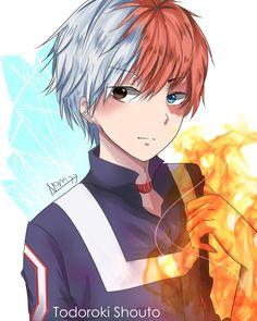 Shouto Todoroki | My Hero Academia, Boku no Hero Academia #mha