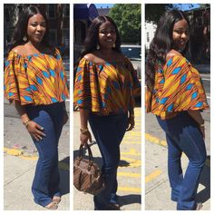 Ankara always helps you make a bold fashion statement. Ankara tops are one of the hottest things in the fashion world right now, and the are super creative and fashionable. Check out these amazing Ankara...