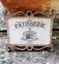 Your place to buy and sell all things handmade Miniature Kitchen, Miniature Dollhouse, Flower Cart, Cafe House, Pastry Shop, Dollhouse Accessories, Needlepoint Kits, Cake Shop, Made Of Wood