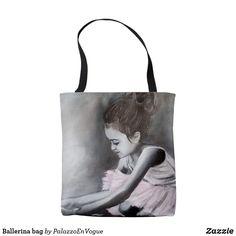 Tote Bag Ballerina bag Ballerina, Reusable Tote Bags, Gifts, Style, Swag, Presents, Ballet Flat, Favors, Ballerina Drawing