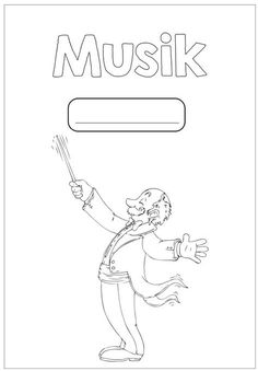 Ausmalbilder Musikunterricht Deckblatt Pinterest Music