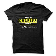 its a CHARLES thing... #fashion #T-Shirts