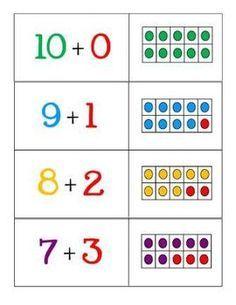 ten frame make ten - Google Search