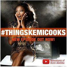 Yaay! Finally! Go watch #thingskemicooks  @kemiadetiba on YouTube!