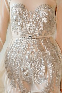my wedding renewal of vows dress-ethereal detailing-like it?