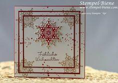 Weihnachtskarte; Festive Flurry; Gorgeous Grunge; Easy Triple Card; Mitbringsel; Kerze basteln; Goodie; Bigz Top Note; Stampin' Up Hochzeits...