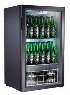 A #ManCave essential - the beer fridge