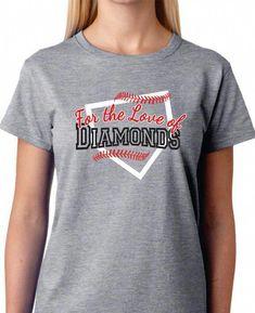 e956b8eb #CloseoutBaseballEquipment #BaseballDiamond Softball Shirts, Sports Mom  Shirts, Softball Mom, Baseball Mom