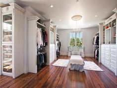 Amazing Closet in home in Cherry Hills Village that is currently for sale for $8,700,000
