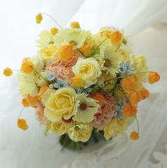 新郎新婦様からのメール グランドプリンス高輪様へ 楽しみという花 : 一会 ウエディングの花