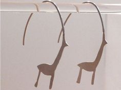 Wild deer earrings. So unique and awesome