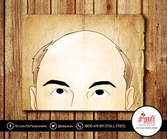#HairFacts  #Balding is visible only when we lost 50% of the hairs from the scalp. So, if you're losing 80-100 strands of hair per day, then you don't have to worry about it.