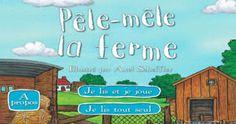 FRANÇAIS - Pêle-Mêle la ferme est la version française de l'excellent Animal SnApp de Nosy Crow : une excellente application d'éveil, de lecture interactive - Pêle-Mêle la ferme est la version française de l'excellent Animal SnApp de Nosy Crow : une excellente application d'éveil, de lecture interactive et de découverte, illustrée par l'extraordinaire Alex Scheffler (Le Gruffalo, Pip et Posy).