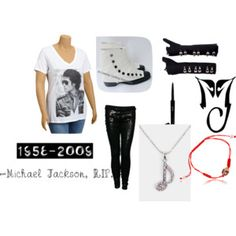This is the first Michael Jackson outfit I ever made. Only moonwalkers know what the red bracelet is for. <3 Moonwalker829