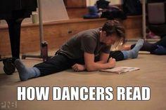 #dancers #reading