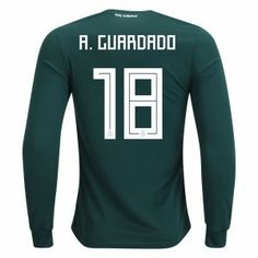 2018 Mexico Guardado World Cup LS Home Jersey 2018 Mexico Guardado World Cup  LS Home Jersey  8efcecd51