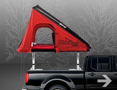 The Roost roof top tents are designed to provide convenient shelter, a safe resting place and convert to roof top cargo carriers. Truck Bed Tent Camper, Car Tent, Tent Campers, Truck Camping, Camping Ideas, Top Tents, Roof Top Tent, Cool Rvs, Patrol Gr