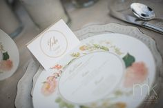Spring placesetting