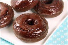 GUILT-FREE #DONUTS! Just 182 calories… and they taste every bit as good as they look. #NationalDonutDay