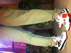 Jordan Love. Retro 4's -- love this pose and love love love the color scheme on the 4s
