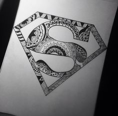 Superman mandala ✒️
