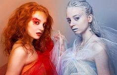 would love to do a fire and ice themed shoot!