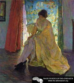 Impressionist Figure  Charles W. Hawthorne